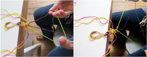 روش ساخت دستبند دوستی,روش بافت انواع دستبند,آموزش بافت انواع دستبند