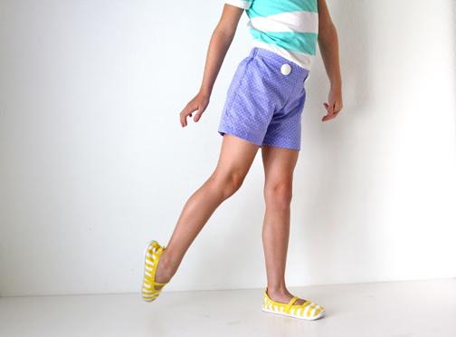 دوخت شلوار کوتاه دخترانه,مدل های شلوار کوتاه دخترانه