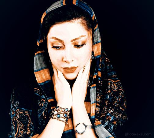 جدیدترین عکس های بازیگران زن ایرانی,ساناز زرین مهر,تصاویر ساناز زرین مهر