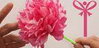 آموزش ساخت گل زیبا با استفاده از کاغذ رنگی