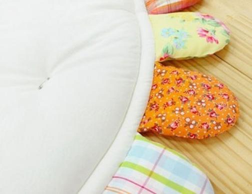 روش دوخت بالش برای بچه ها,دوخت رخت خواب بچه گانه,آموزش دوخت رخت خواب بچه گانه