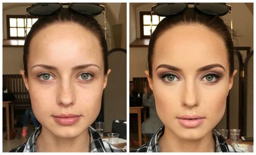 خوشکل شدن بدون آرایش,چگونه بدون آرایش خوشکل شویم؟