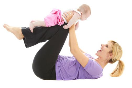 زیبا نگه داشتن اندام بعد از زایمان,چطور بعد از زایمان اندامی زیبا داشته باشیم؟
