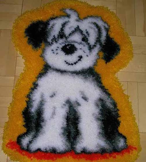 درست کردن تابلو فرش,بافت تابلو فرش,آموزش بافت تابلو فرش با کاموا