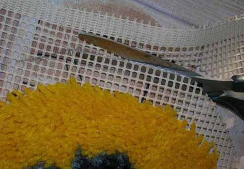 آموزش جدول بافی با کاموا,درست کردن تابلو فرش