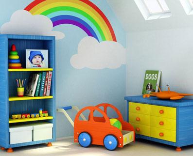 ساخت اتاق بازی برای کودک,آموزش ساخت اتاق بازی برای کودک