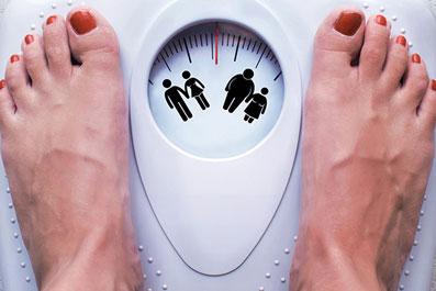 تاثیر بالا رفتن وزن برروی پریود شدن