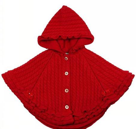 مدل شنل بافتنی بچه گانه,شنل بافتنی,شنل دست بافت