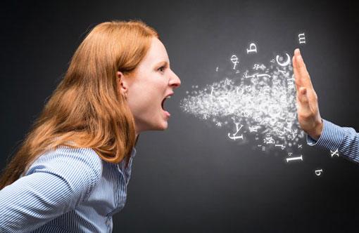 خانوم های عصبانی،خصوصیات خانوم های عصبانی،زنان عصبانی