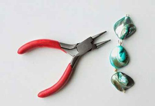 آموزش ساخت دستبند با زنجیر و سنگ های رنگی 4 آموزش ساخت دستبند با زنجیر و سنگ های رنگی