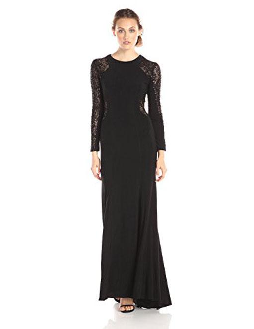 لباس شب زنانه،مدل لباس مشکی شب زنانه