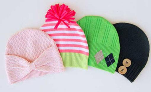 تبدیل لباس قدیمی به لباس جدید,ساخت کلاه کودکانه,آموزش دوخت انواع کلاه