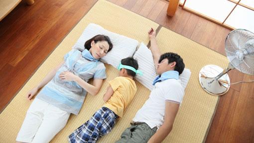 خوابیدن زیر پنکه,پیشکیری از بیماری ها,مضرات خوابیدن زیر کولر