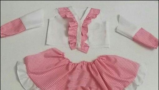 آموزش دوخت لباس دخترانه مجلسی,الگوی دوخت لباس مجلسی دخترانه,دوخت سارافون دخترانه