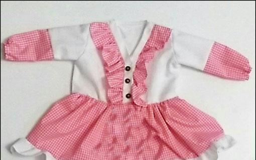 آموزش دوخت لباس,دوخت لباس مجلسی دخترانه,دوخت لباس دختر بچه