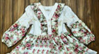 آموزش دوخت لباس مجلسی دخترانه به همراه الگو