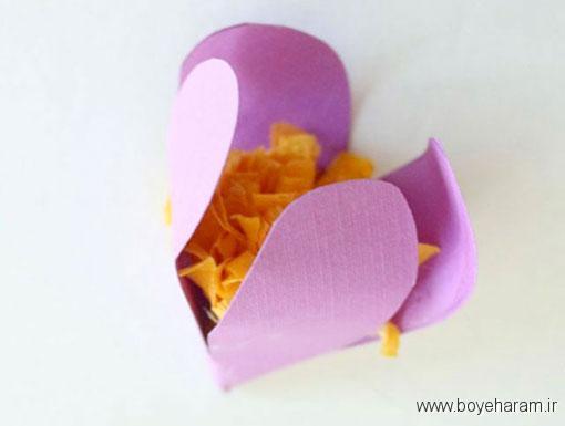 نحوه ساخت انواع آویز,ساخت آویز گل کاغذی