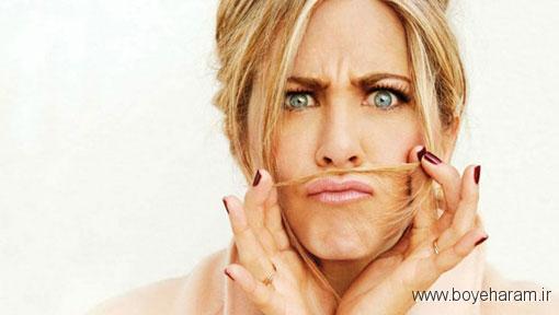 خوشبو کردن دائمی موی سر,دلایل بوی بد موی سر,دلایل اصلی بوی بد موی سر