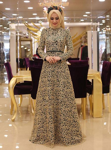 جدیدترین مدل های لباس عربی زنانه,شیکترین مدل های لباس عربی زنانه