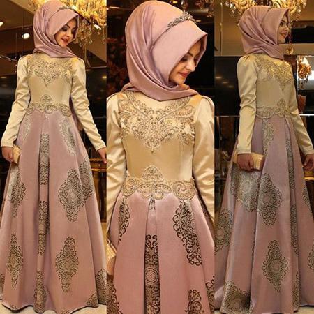 شیکترین مدل های لباس عربی زنانه