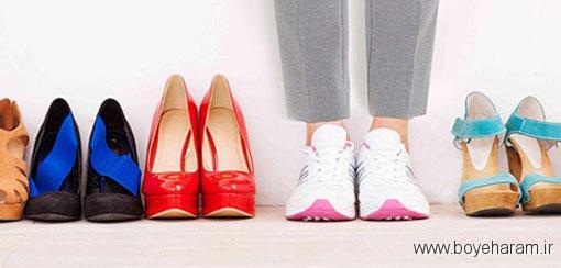 انتخاب کفش برای زنان باردار,انتخاب کفش مناسب برای زنان حامله