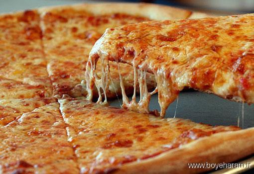پخت پنیر پیتزا,آموزش درست کردن پنیر پیتزا