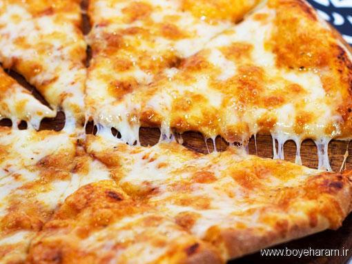 آموزش درست کردن انواع پیتزا,روش پخت انواع پیتزا