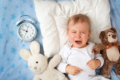 دلایل از خواب پریدن کودکان,هراسان بیدار شدن کودکان