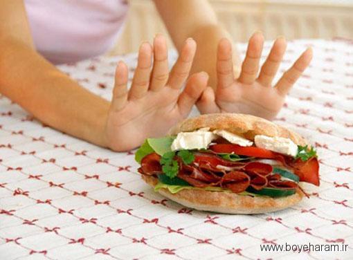 دلایل تهوع گرفتن بعد از خوردن غذاها,غذاهایی که حالت تهوع را زیاد میکنند