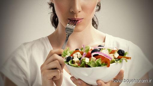 تهوع بعد از غذا,چرا بعد از خوردن غذا حالت تهوع میگیرم