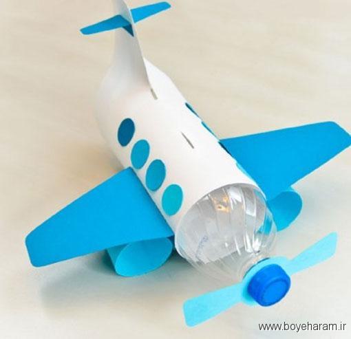 ساخت هواپیما با قوطی,ساخت کاردستی با قوطی