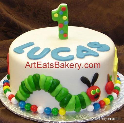 عکس کیک,دستور پخت کیک تولد,آموزش کیک عروس