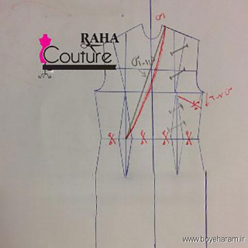 دوخت انواع لباس,دوخت لباس زنانه,دوخت لباس مجلسی,آموزش دوخت لباس مجلسی