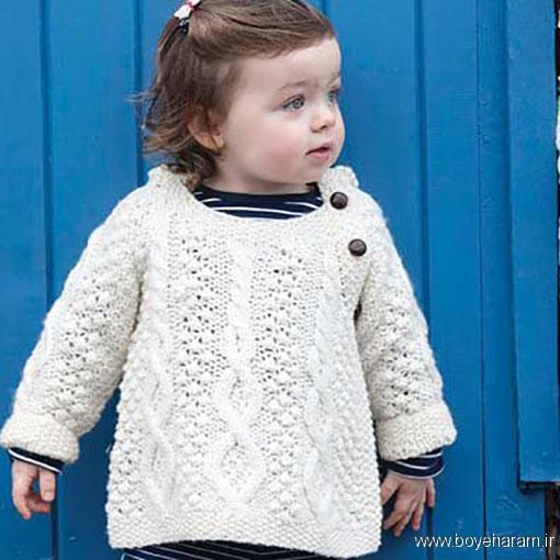 آموزش بافت لباس بچه گانه,جدیدترین مدل های لباس بافتنی بچه گانه