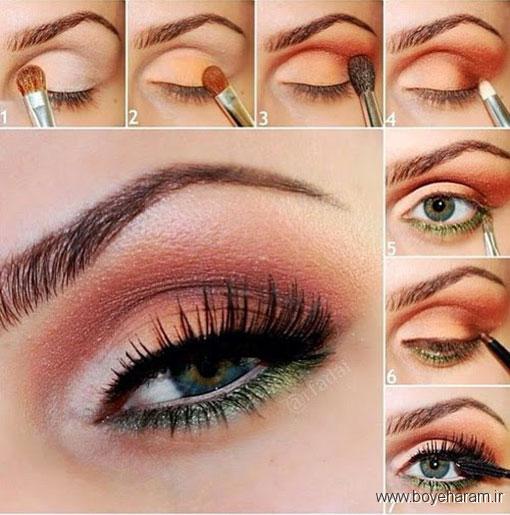آرایش چشم جدیدترین,ارایش چشم جدید عربی,ارایش جدید چشم عروس,مدل آرایش چشم جدید,آموزش آرایش,آرایش صورت,آرایش چشم گریم