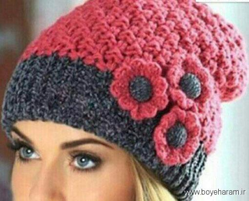 مدل کلاه زمستانی زنانه,جدیدترین کلاه های بافتنی زنانه