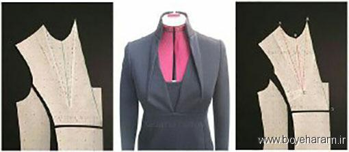 دوخت انواع لباس,دوخت لباس مجلسی,آموزش دوخت لباس مجلسی زنانه