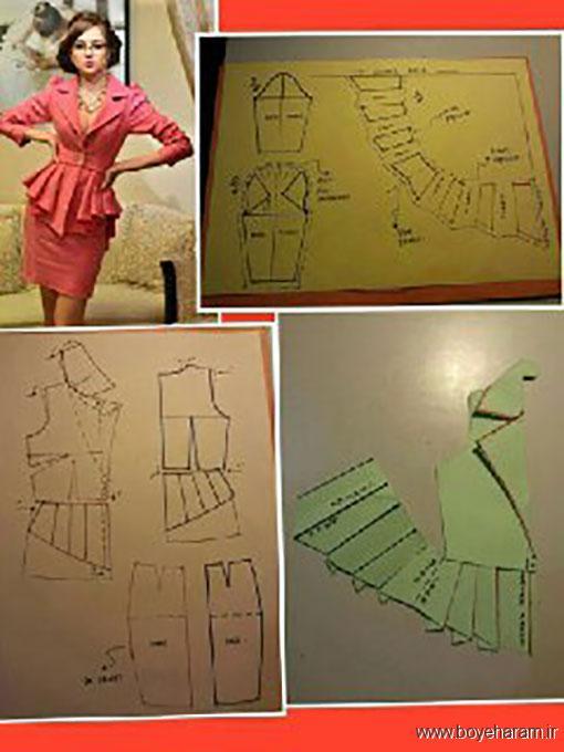 الگوی دوخت لباس عروس,الگوی دوخت لباس مجلسی,دوخت لباس مجلسی زنانه,دانلود مجموعه الگوهای دوخت لباس مجلسی