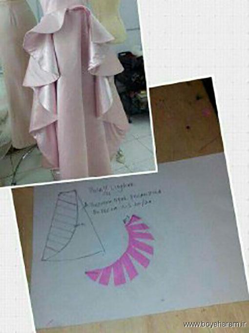 سایت خیاطی,الگوهای خیاطی,دوخت انواع لباس,دوخت لباس مجلسی,آموزش دوخت لباس مجلسی زنانه