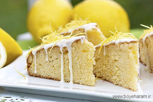 دستور پخت انواع کیک,درست کردن کیک لیمویی و پنیر خامه ای,کیک لیمویی و پنیرخامه ای,پخت کیک با پنیر خامه ای,کیک لیمویی