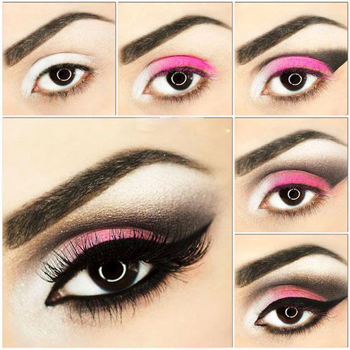 آرایش چشم جدید2018,آرایش چشم جدیدترین,آرایش چشم جدید عربی,آرایش جدید چشم ریز