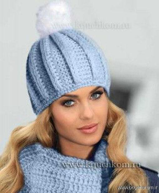 مدل کلاه بافننی زنانه,مدل کلاه بافتنی دخترانه,بافت کلاه