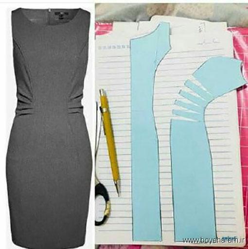 آموزش دوخت لباس مجلسی,آموزش دوخت لباس مجلسی زنانه,دانلود الگو های آماده لباس مجلسی