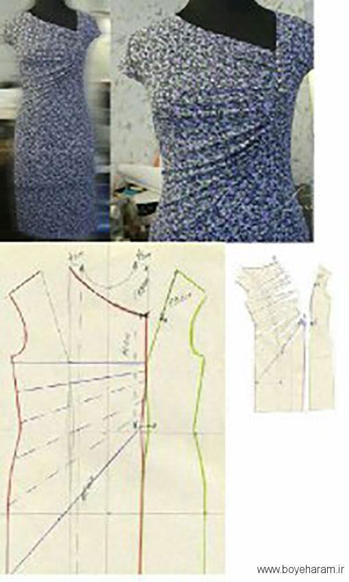 دانلود الگو های آماده لباس مجلسی,آموزش کشیدن الگو لباس مجلسی,دوخت انواع لباس مجلسی