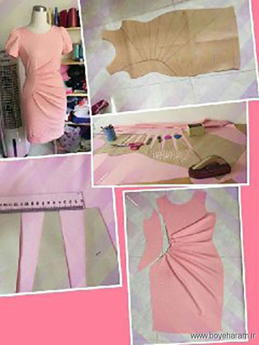 آموزش کشیدن الگو لباس مجلسی,دوخت انوااع لباس مجلسی,آموزش دوخت لباس مجلسی دخترانه
