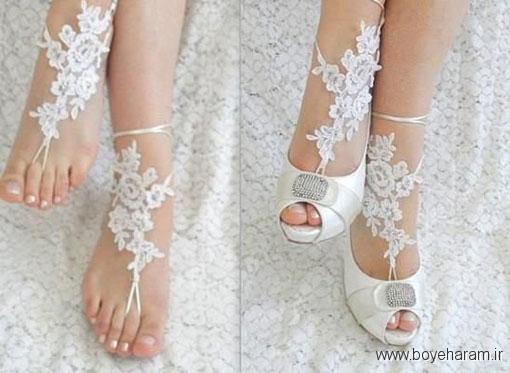 شیکترین مدل های پابند عروس,پابند انگشتی گیپور,پایند انگشتی گیپور عروس