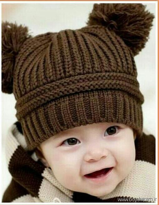 آموزش بافت کلاه بچگانه,مدل کلاه خرسی,آموزش بافت کلاه عروسکی پسرانه,کلاه عروسکی,آموزش بافت کلاه عروسکی