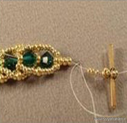 ساخت زیورآلات,ساخت دستبند,آموزش ساخت دستبند,آموزش تصویری درست کردن دستبند