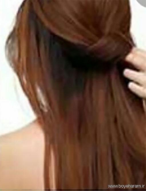 آموزش درست کردن مدل موی جدید,مدلهای جدیدآرایش مو,آموزش درست کردن مدل مو2018,درست کردن شینیون های جدید