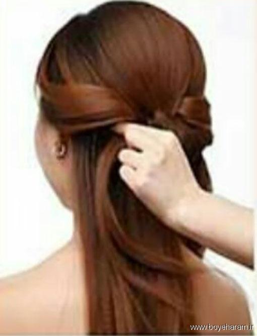 آموزش درست کردن مدل مو,آموزش درست کردن مدل موی جدید,مدل های جدیدآرایش مو
